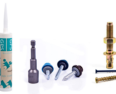 Self Tapping Self Drilling Screws, Masonry Fixings, Silicones and Sealants