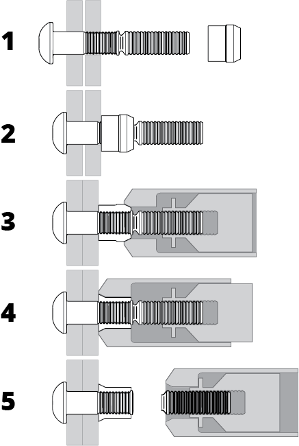 Lockbolt Installation Drawing